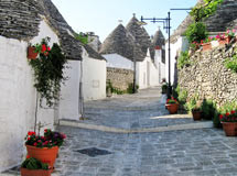 Straße in Alberobello