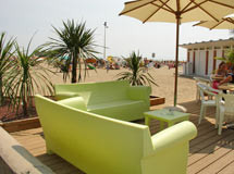Strand Lounge in Lignano