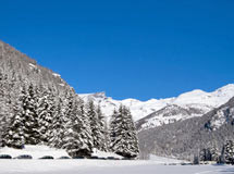 Winter in Champoluc