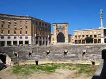 Amphitheater in Lecce