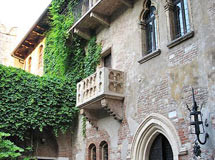 Balkon der Julia in Verona