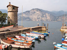Boote in Malcesine