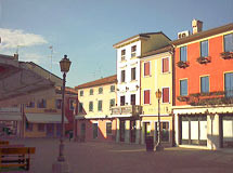 Piazza Pio X in Caorle