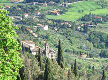 Landschaft in Cortona